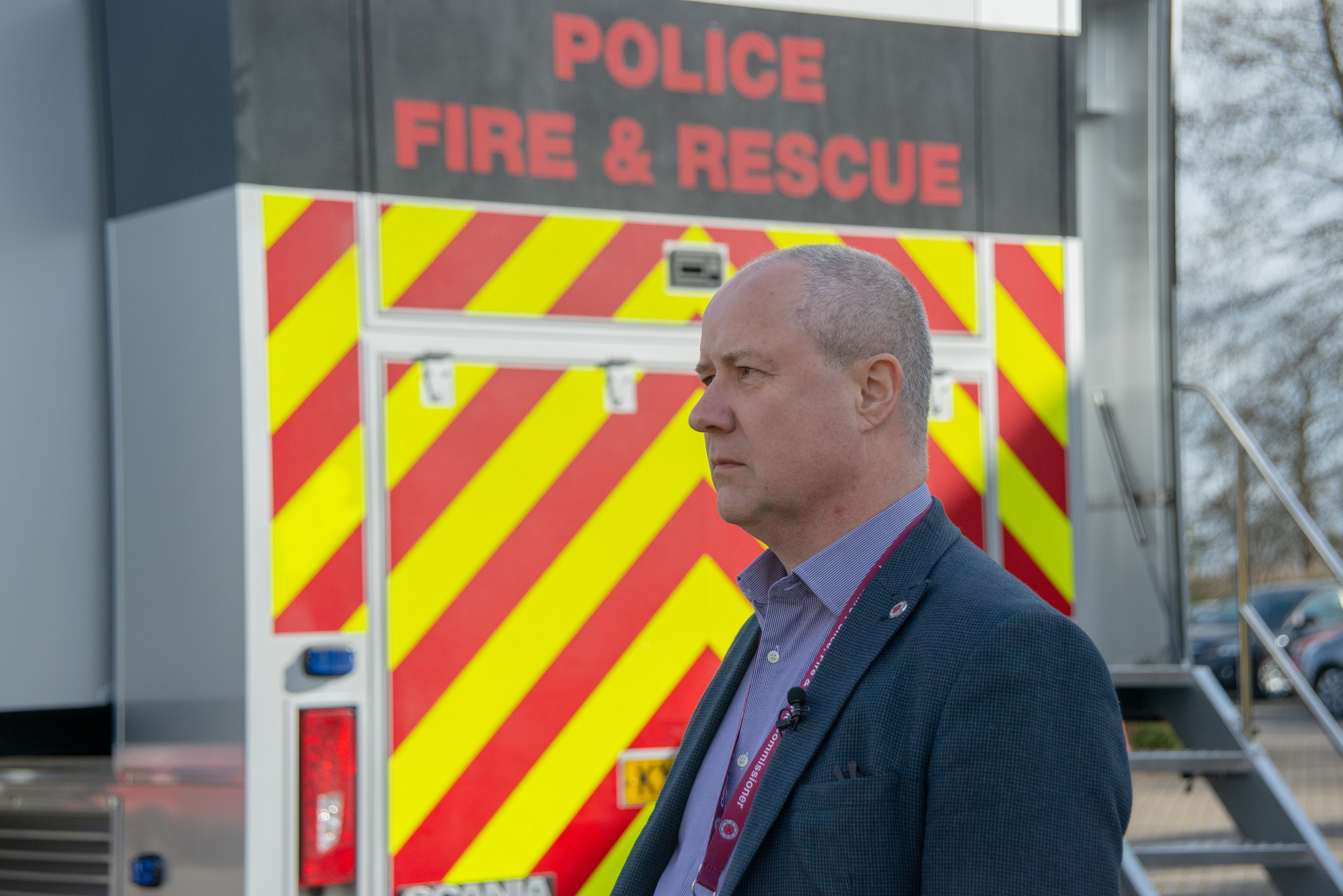 Stephen Mold, Police, Fire and Crime Commissioner