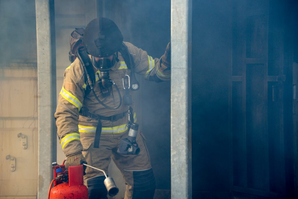 Image of NFRS firefighter