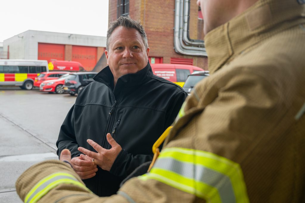 Chief Fire Officer Darren Dovey