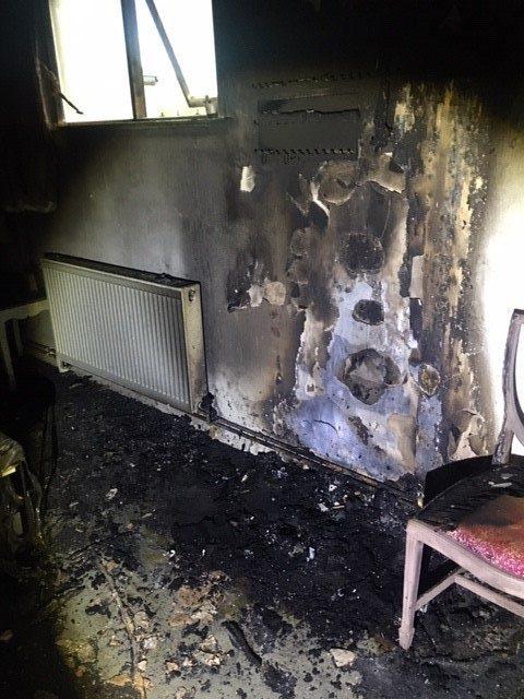 Fire in Rushden