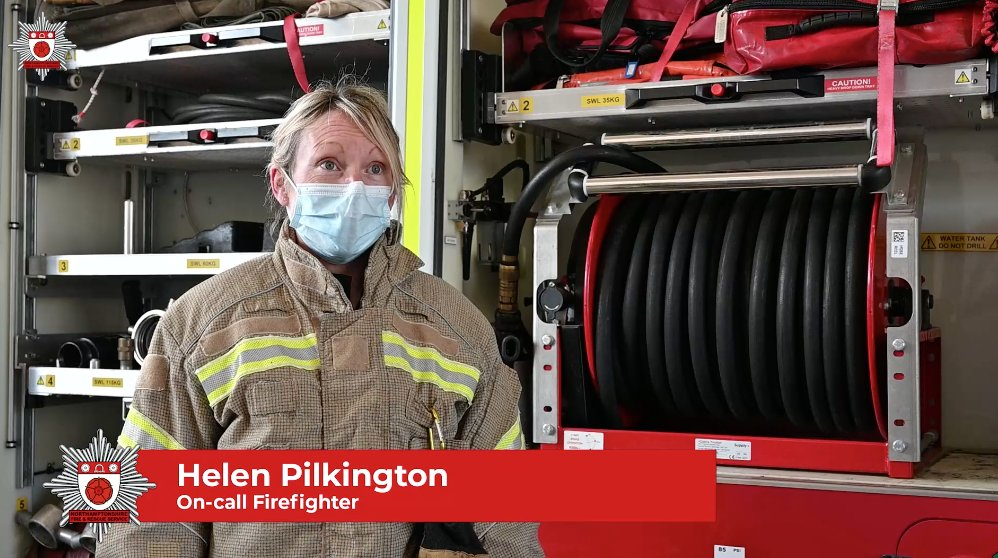Firefighter Helen Pilkington